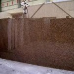Brown Granite Polish Slab